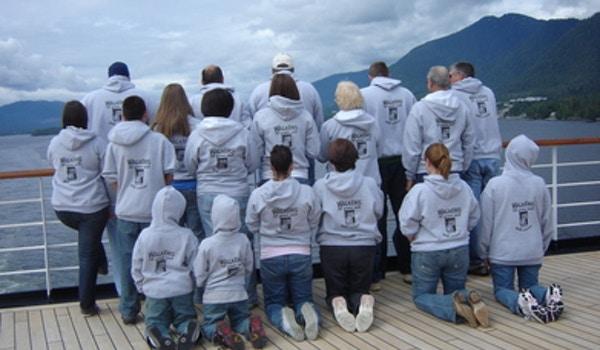 Walker 50th Wedding Anniversary Alaskan Family Cruise T-Shirt Photo