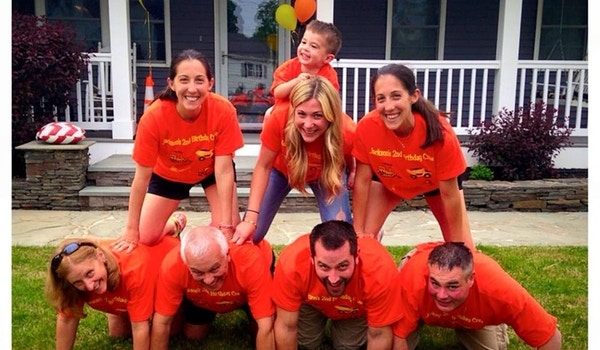 Jackson's 2nd Birthday Crew T-Shirt Photo