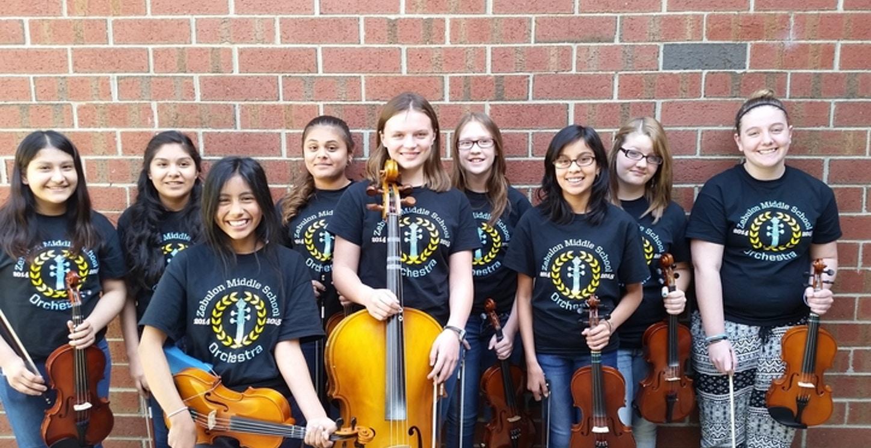 Zebulon Middle School Orchestra T-Shirt Photo