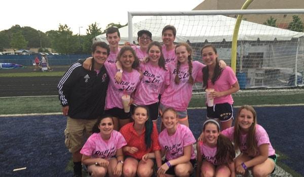 Relay For Life Team Pink Flamingos 2015 T-Shirt Photo