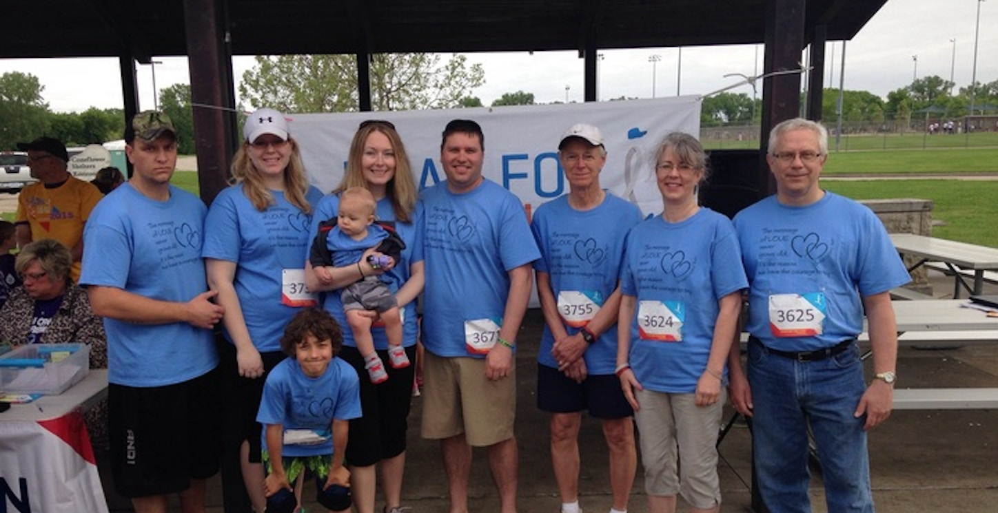 Head For The Cure 5 K Walk For Brain Tumor Research T-Shirt Photo