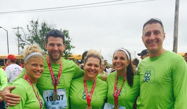 Cellcom Marathon Relay Finishers! T-Shirt Photo
