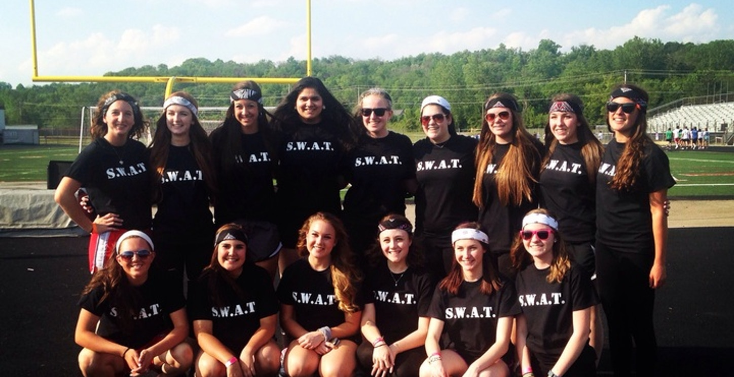 Relay For Life Swat Team T-Shirt Photo