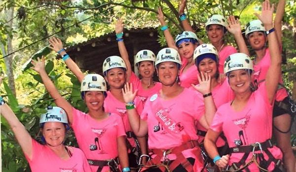 Puerto Vallarta Extreme Zip Lining T-Shirt Photo