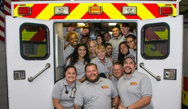 Richmond Volunteer Rescue Squad Emt Class 2015 T-Shirt Photo