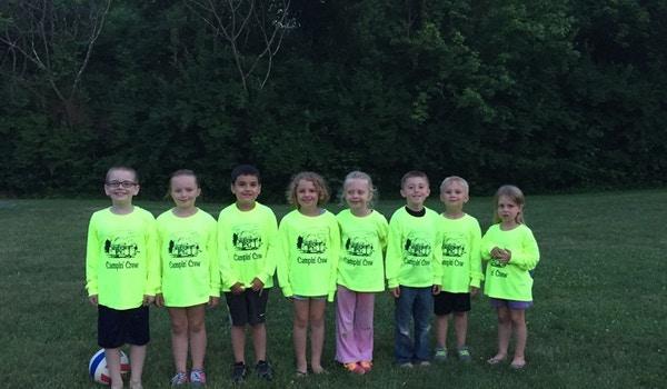 Kids Camping T-Shirt Photo