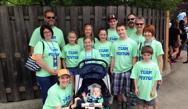 Team Peyton   2015 Jdrf One Walk T-Shirt Photo