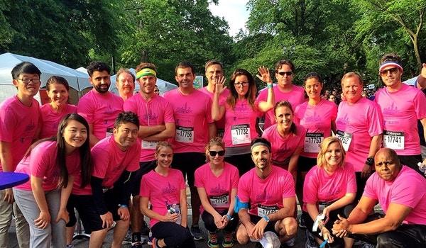 Team Telstra Run The Jp Morgan Challenge T-Shirt Photo