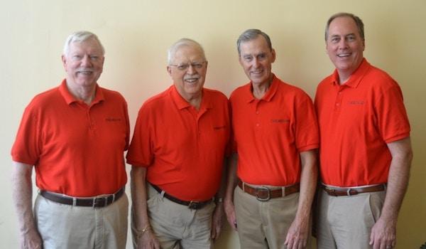 The Roaring 20s Barbershop Quartet T-Shirt Photo