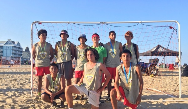 2015 Beach Soccer Champions T-Shirt Photo