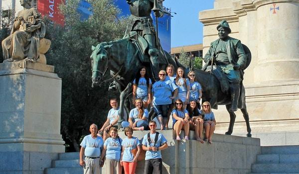 Novo Guide Tours And Man Of La Mancha T-Shirt Photo