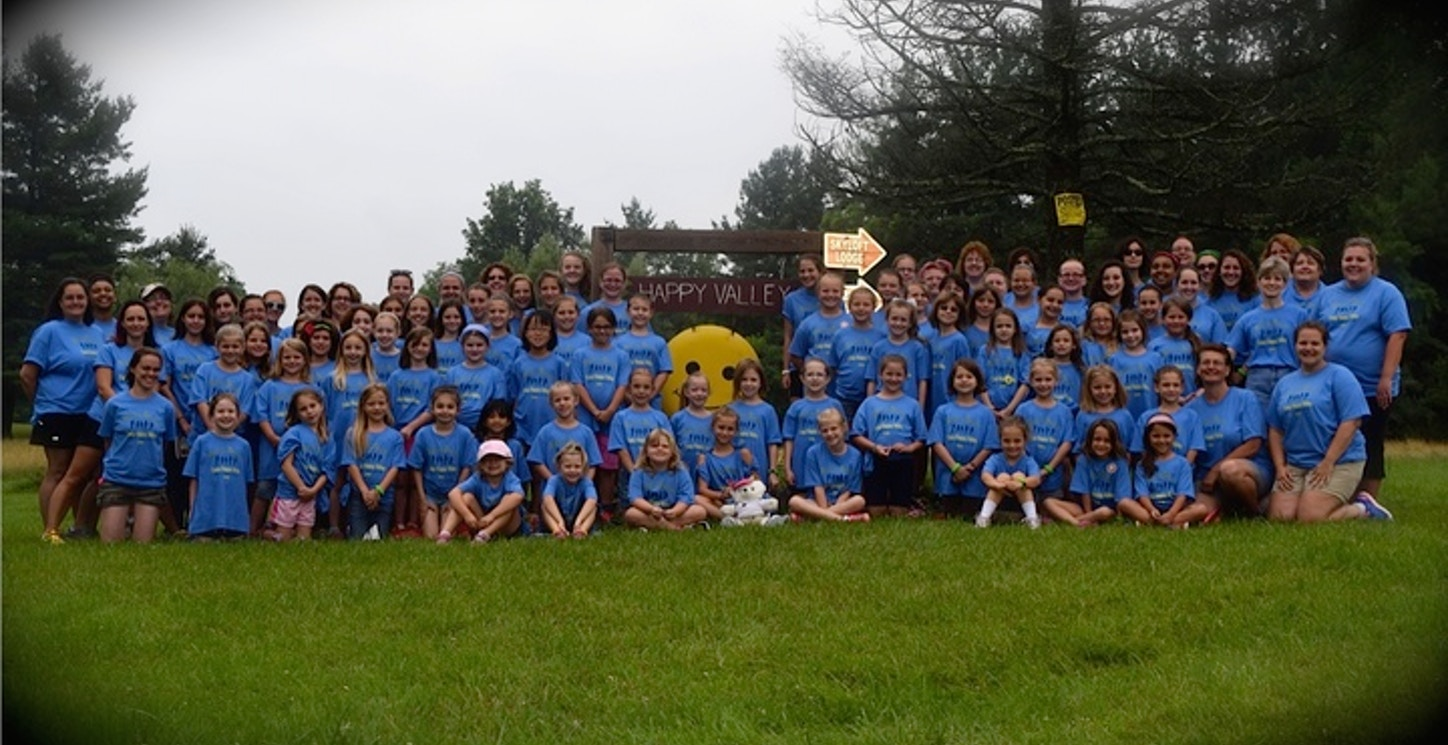Girl Scouts At Camp Happy Valley 2015 T-Shirt Photo