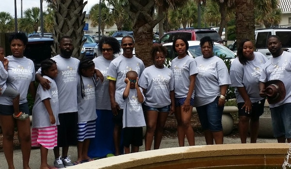 Moore Style Family Weekend 2015 T-Shirt Photo