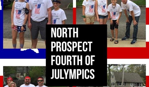 North Prospect Annual Fourth Of Julympics! T-Shirt Photo