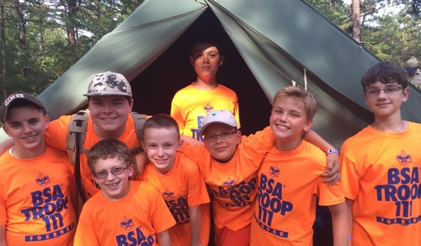 Bs Troop 111 At Camp Squanto T-Shirt Photo
