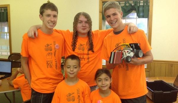 Robotics And Engineering July Team B T-Shirt Photo