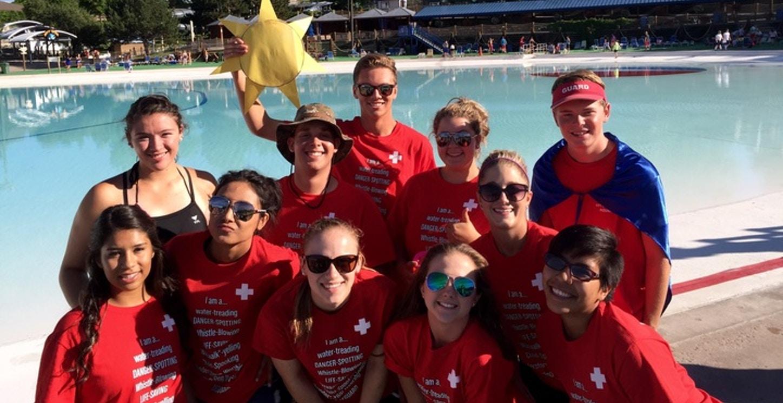 Lifeguard Games 2015 T-Shirt Photo