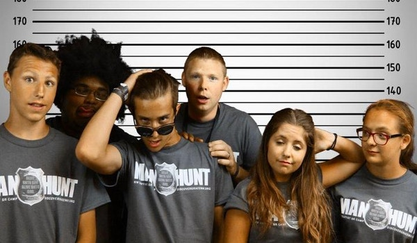 "The Man Hunt ""Line Up"" T-Shirt Photo"
