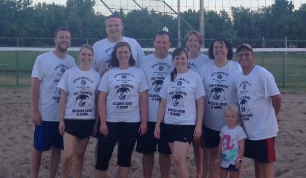Spaceballs: The Volleyball Team T-Shirt Photo