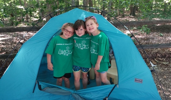 """Summer Camp 2015: """"Camping Is Totally In Tents!"""" T-Shirt Photo"""