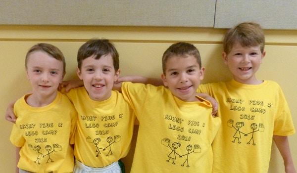 Lego Camp For Boys T-Shirt Photo