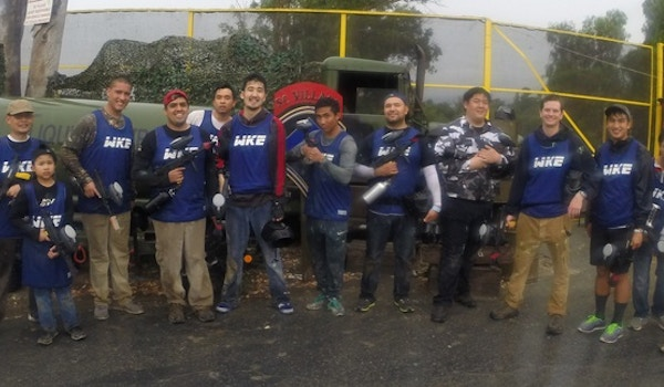 Paintball With Custom Ink T-Shirt Photo