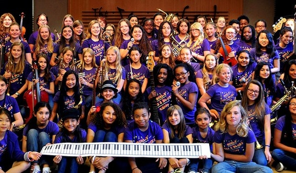 Girls' Jazz & Blues Camp, Berkeley, Ca T-Shirt Photo