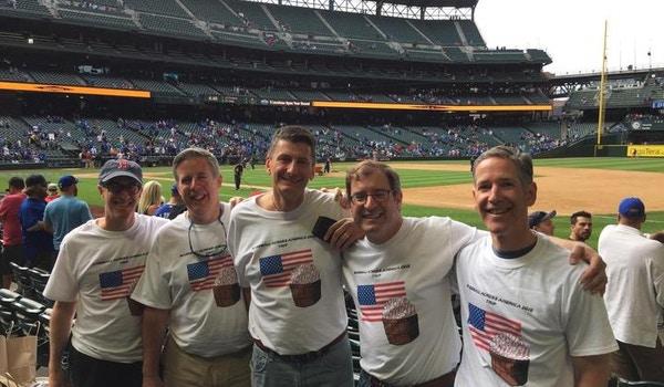 Baseball Across America Takes Seattle! T-Shirt Photo