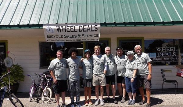Bridge 2 Bridge Bike Pedal 2015 T-Shirt Photo