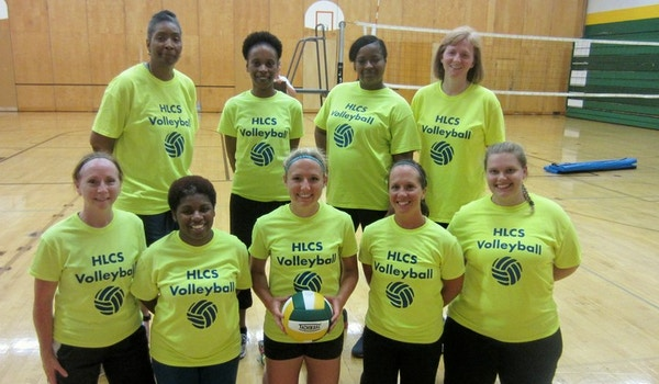 Hlcs Volleyball Team! T-Shirt Photo