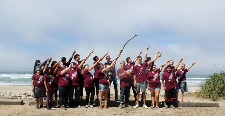 Arrow At The Oregon Coast! T-Shirt Photo