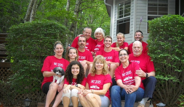 Annual Family Vacation With Customink Tees T-Shirt Photo