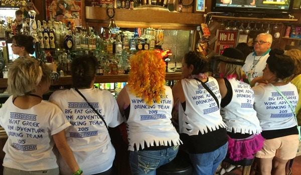 Opa! Big Fat Greek Wine Adventure 2015 T-Shirt Photo