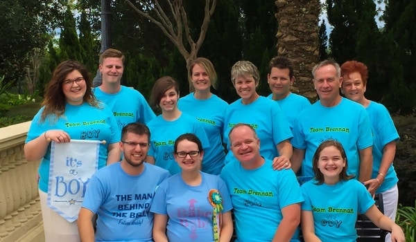 Team Brennan Baby Shower T-Shirt Photo