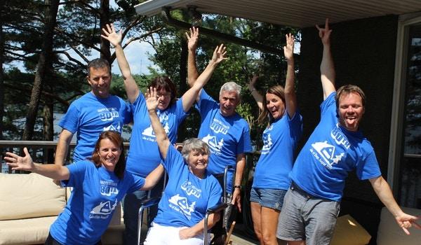 Lake Of Bays 80th Birthday Party Fun!  T-Shirt Photo