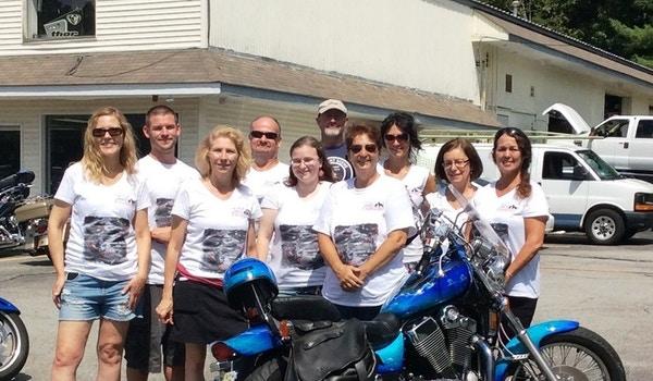 T2 F Motorcycle & Poker Run T-Shirt Photo
