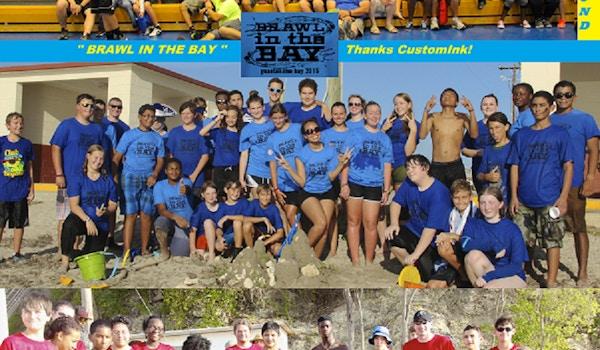 "Club Beyond ""Brawl In The Bay""   T-Shirt Photo"