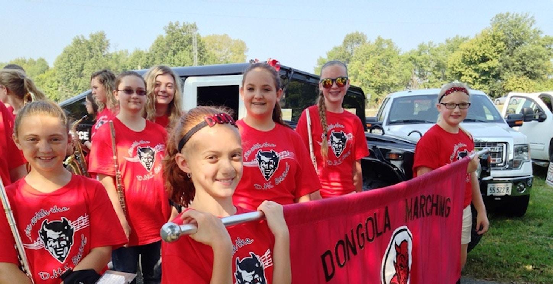 Dongola Demons Marching Band T-Shirt Photo