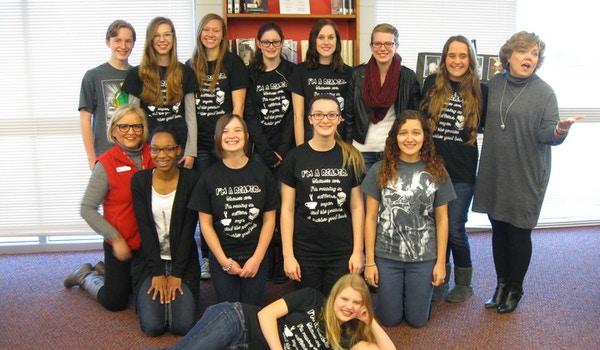 Creekside High School Book Club T-Shirt Photo