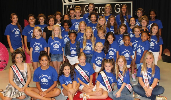 The 2015 Miss Georgia Girl Contestants   Using The Crown To Make A Difference! T-Shirt Photo