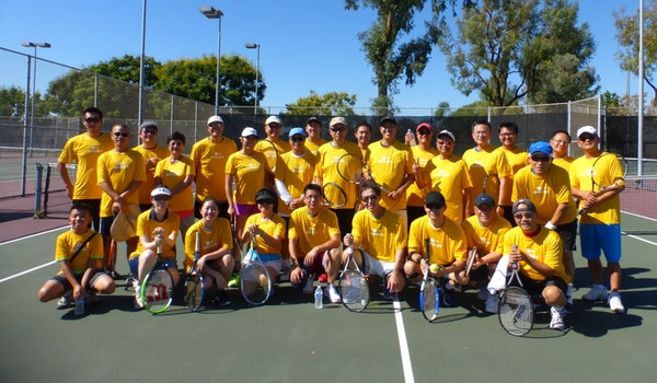 2015 Occec Tennis Tournament T-Shirt Photo