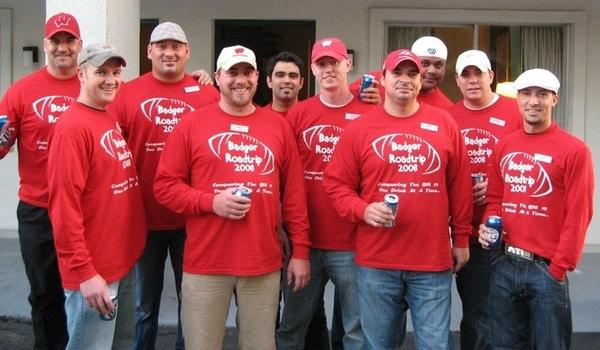 2008 Badger Roadtrip T-Shirt Photo
