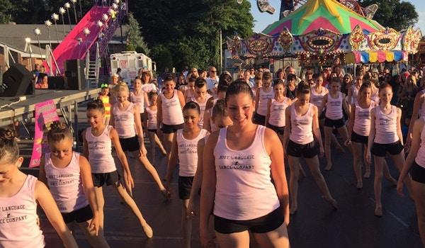 Body Language Dance Company Family Festival Performance 2015 T-Shirt Photo