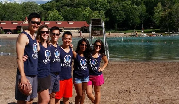 Upstate Medical Students Enjoying A Rare Day Off From Class T-Shirt Photo