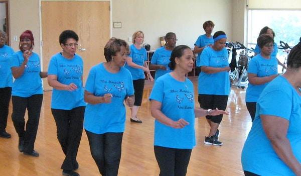 Our Line Dance Class Rocks! T-Shirt Photo
