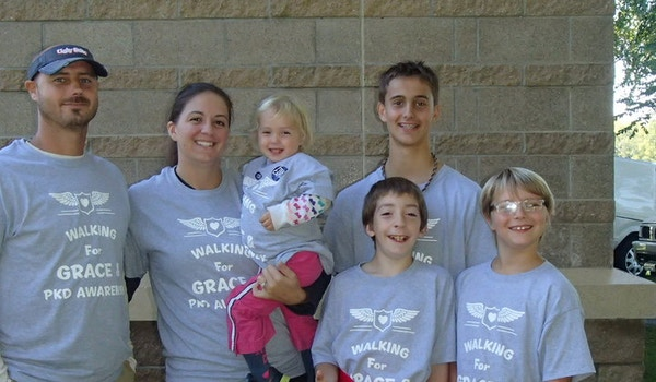 God's Grace Team Pkd Walk T-Shirt Photo