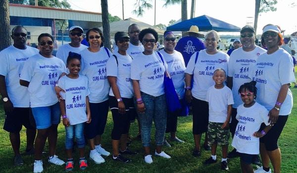 Alzheimer's Walk T-Shirt Photo