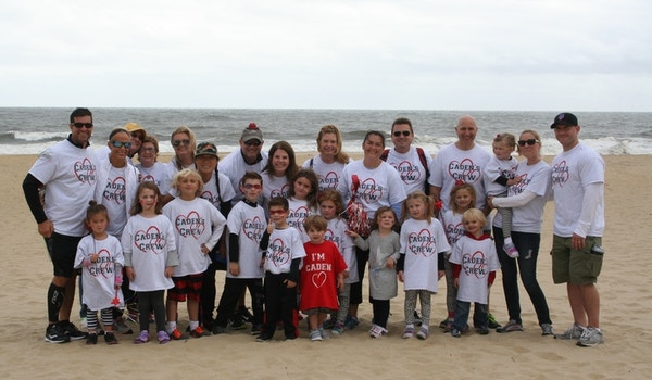 Caden's Crew Rocking' Our New Shirts From Custom Ink! T-Shirt Photo