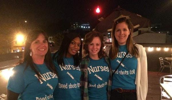 Cheers To New Nurses Celebrating Bsn Graduation! T-Shirt Photo