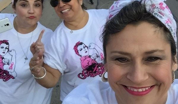 "Kim Strong Aka ""Rosie The Riveter"" T-Shirt Photo"